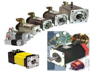Çeşitli servo motorlar