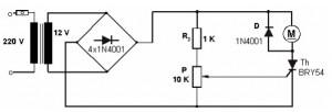 Tristörlü ac motor hız kontrol