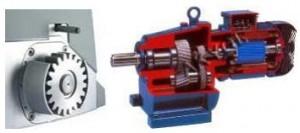 Reduktorlu motor ve ic yapisi