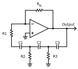 Op-amp'lı faz kaydırmalı osilatör devresi