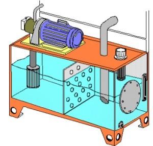 Hidrolik Tankın İç Yapısı