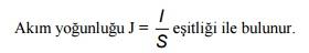 akım formulu