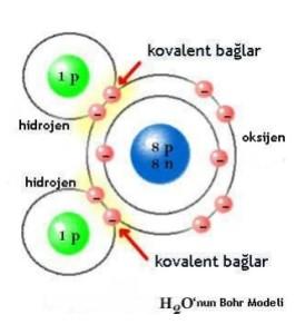 H2O Molekünün Meydana Gelişi
