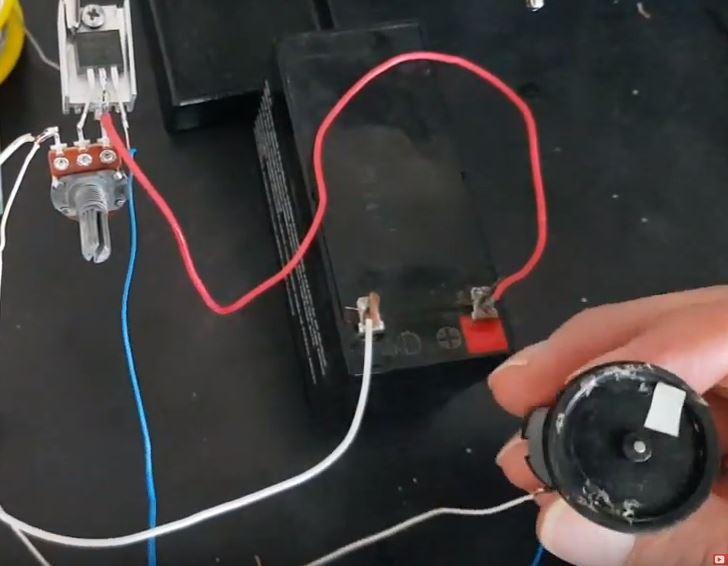 DC motor sürücü yapımı