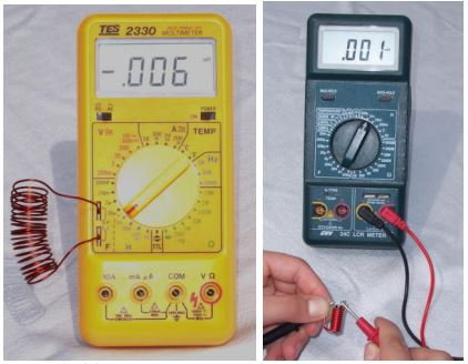 Avometre ve Lcr metre ile endüktans nasıl ölçülür