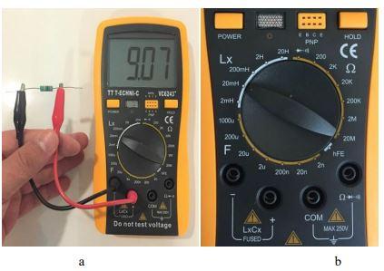 Lcrmetre ile endüktans nasıl ölçülür