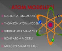 atomun tüm modelleri